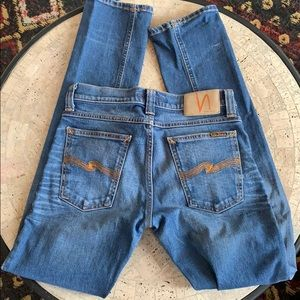 Nudie skinny jeans size 28